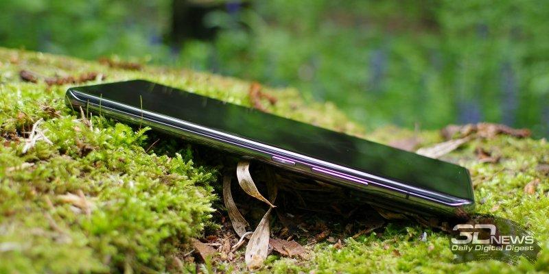 Xiaomi Mi 11 Ultra, правая грань: клавиши включения/блокировки и регулировки громкости/спуска затвора камеры